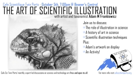 Sept(ish) 2017: Adam Frankiewicz - The Art of Scientific Illustration