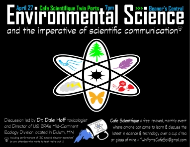 April 2017: Dale Hoff - Environmental Science and the Imperative of Scientific Communication