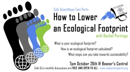 October 2017: Rachel Portinga How to Lower an Ecological Footprint