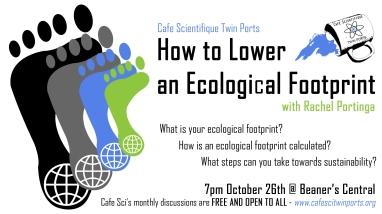 October 2017: Rachel Portinga How to Lower an Ecological Footprint
