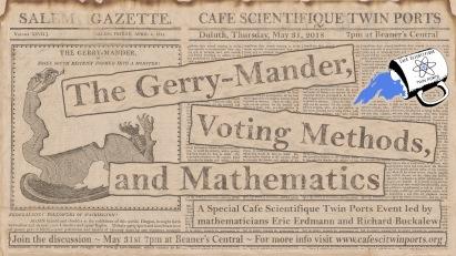 The Gerry-Mander and Voting Methods - Buckalew + Erdmann