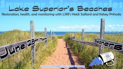June 2018: Lake Superior's Beaches - Saillard + Prihoda