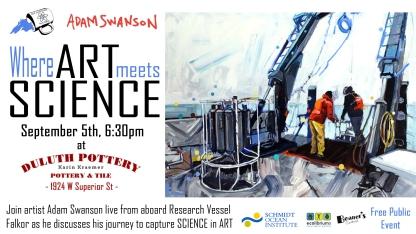 Sept 2018: Art Meets Science - Adam Swanson