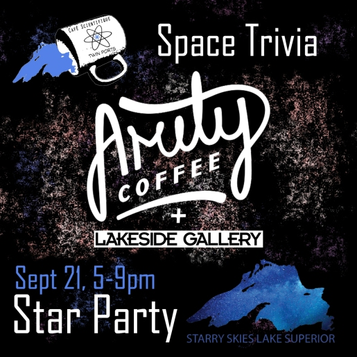 Sept 2018: Star Party + Space Trivia