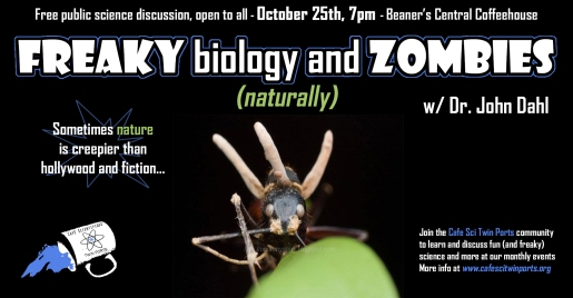 Oct 2018: Freaky Biology and Zombies - Dahl