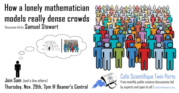 How a lonely Mathematician models really dense crowds - Stewart